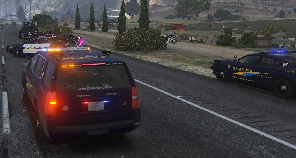 Traffic Control! - Blaine County Sheriff's Office