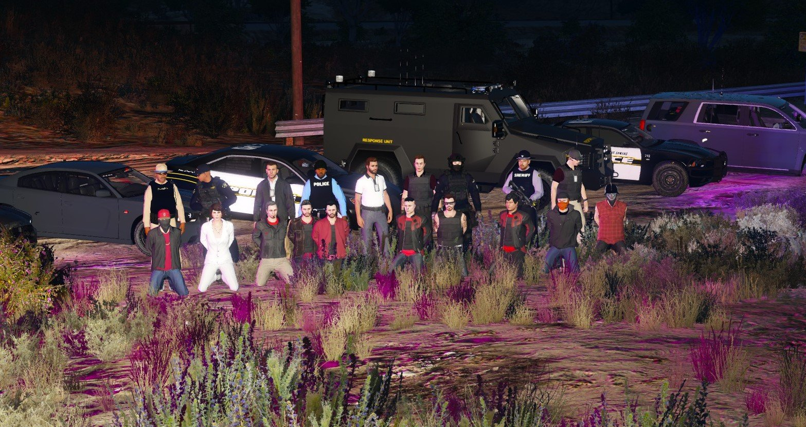 the Red Barons Sting Operation
