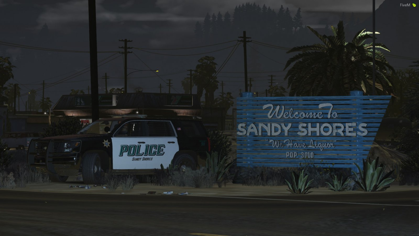 Sandy Shores Police Department