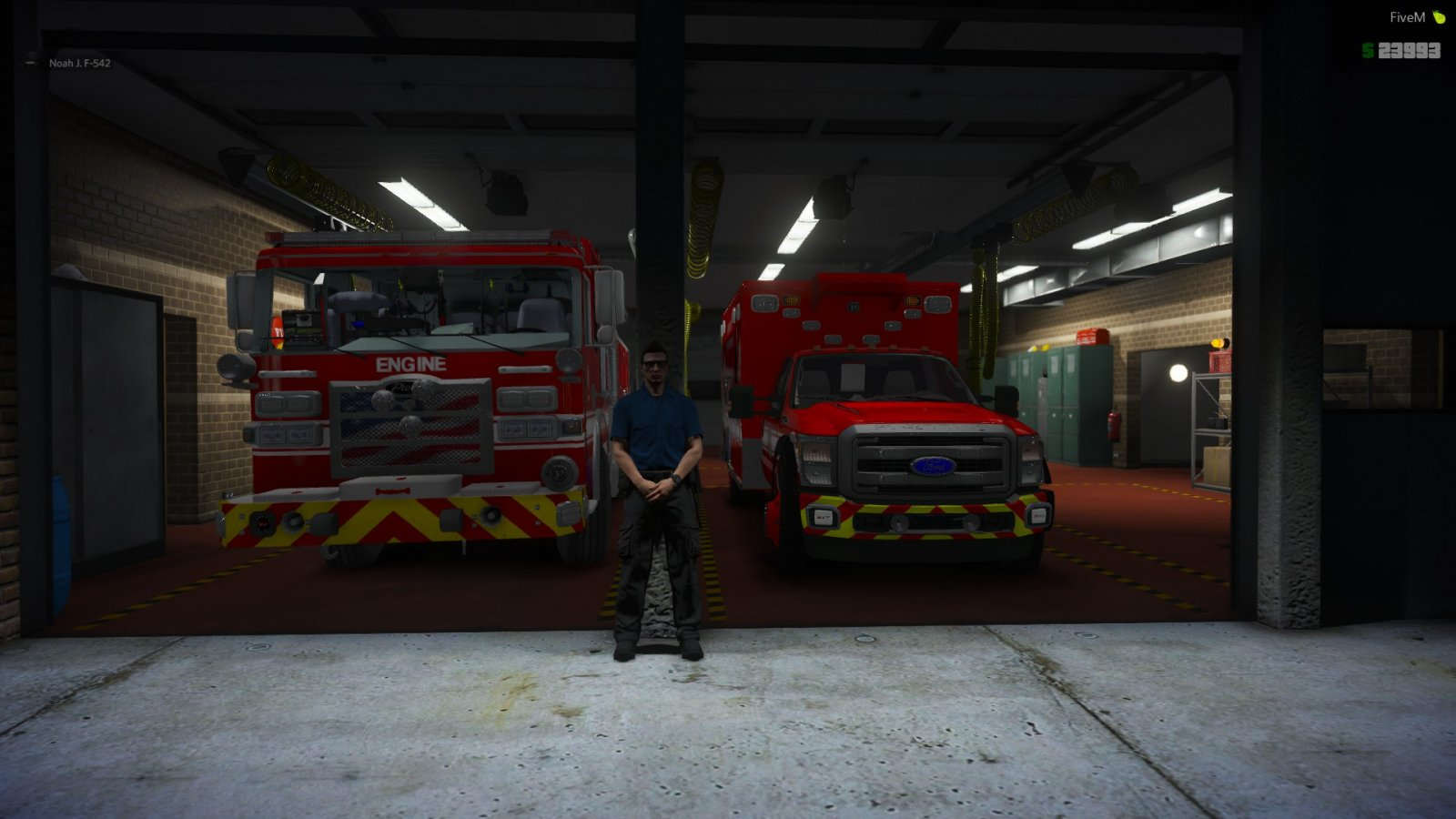 Station 6 ready for calls