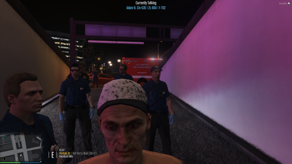 More medics then officers