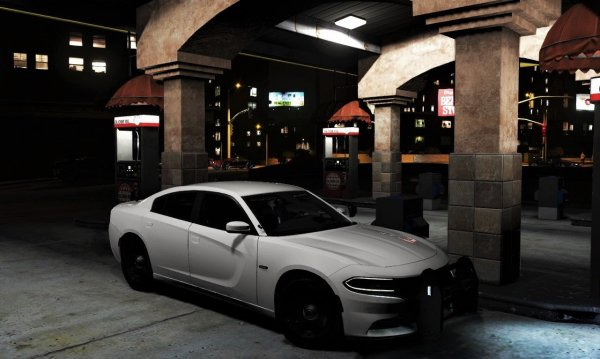 2016 White Charger-Detective's Model.