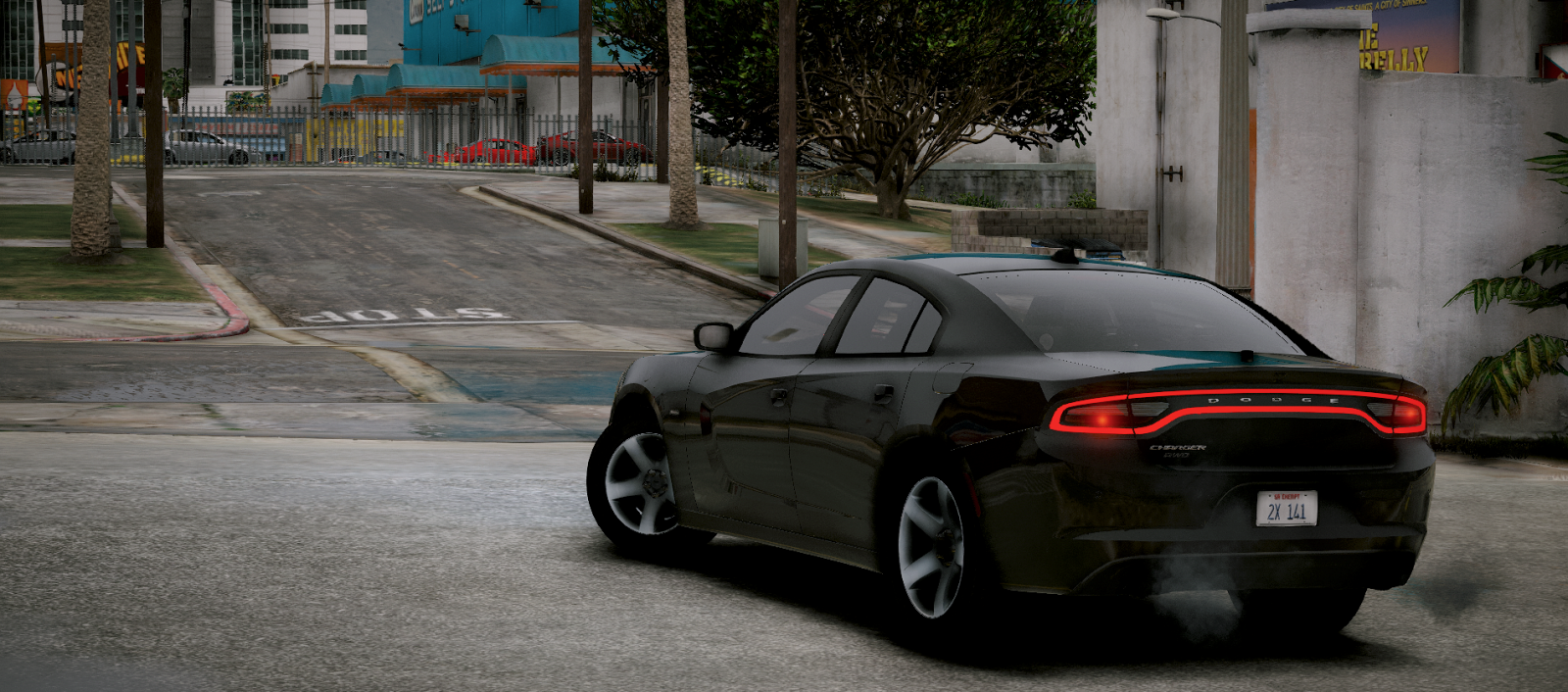 Black '16 Charger - Unmarked