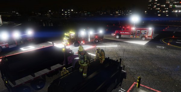 LSFD Hazmat & Los Santos Port Authority Joint Operation