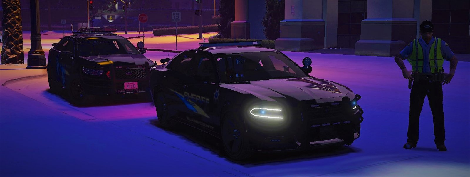 """TED providing help to the LSPD Units, We will help anywhere we can!"""
