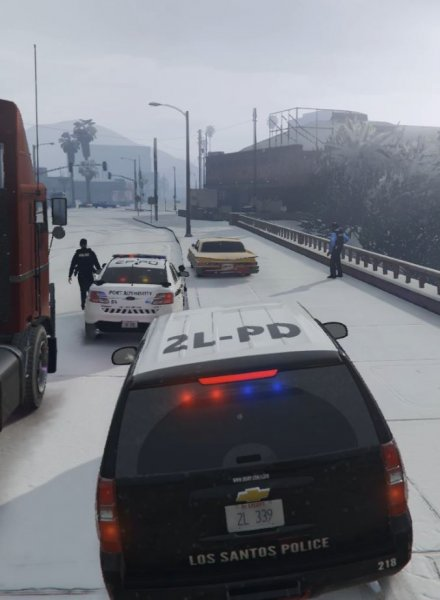 LSPD + Port Authority = Cooperation