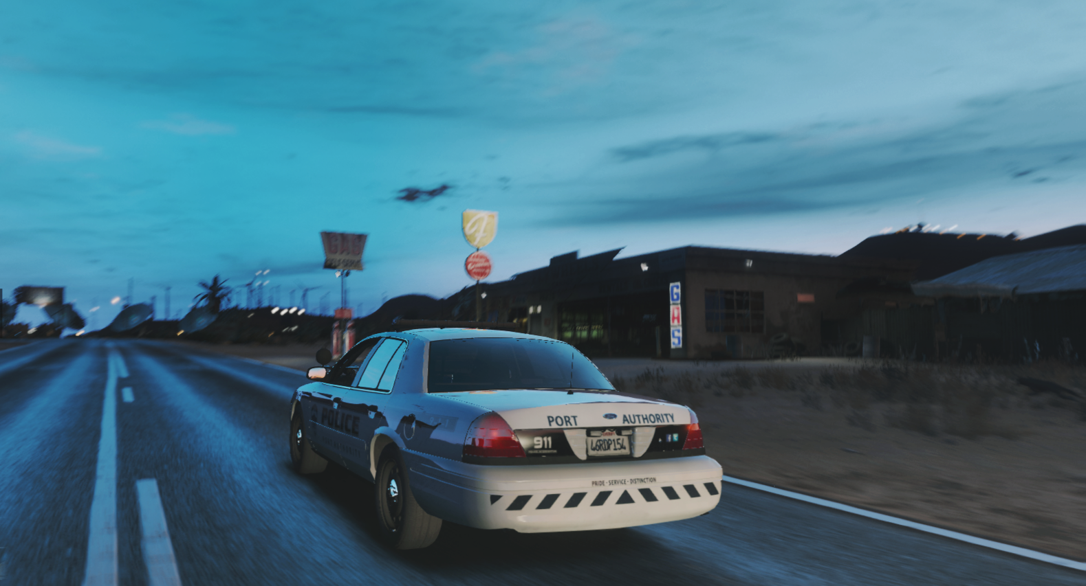 LSPA Driving into the night