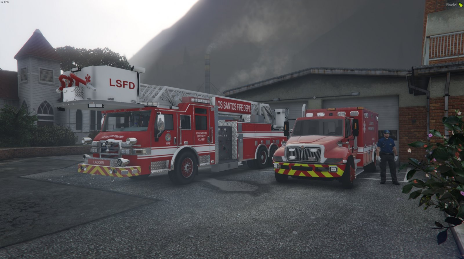 Fire Unit Paleto - Civilian Operations - Department of Justice Roleplay