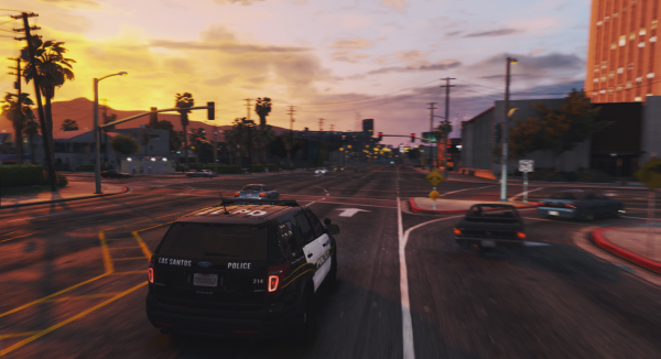 '13 Explorer | Sunset in Los Santos