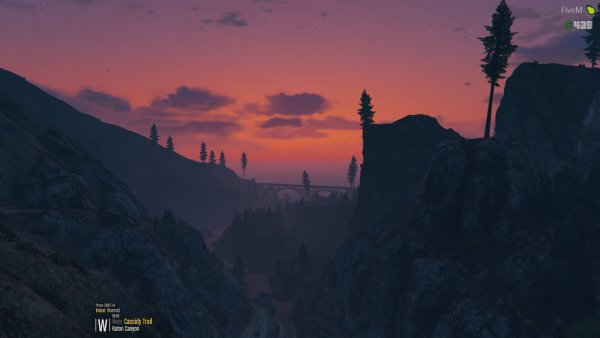 Sunset in Blaine County
