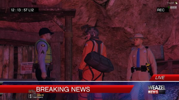 Small Briefing before entering the Mineshaft