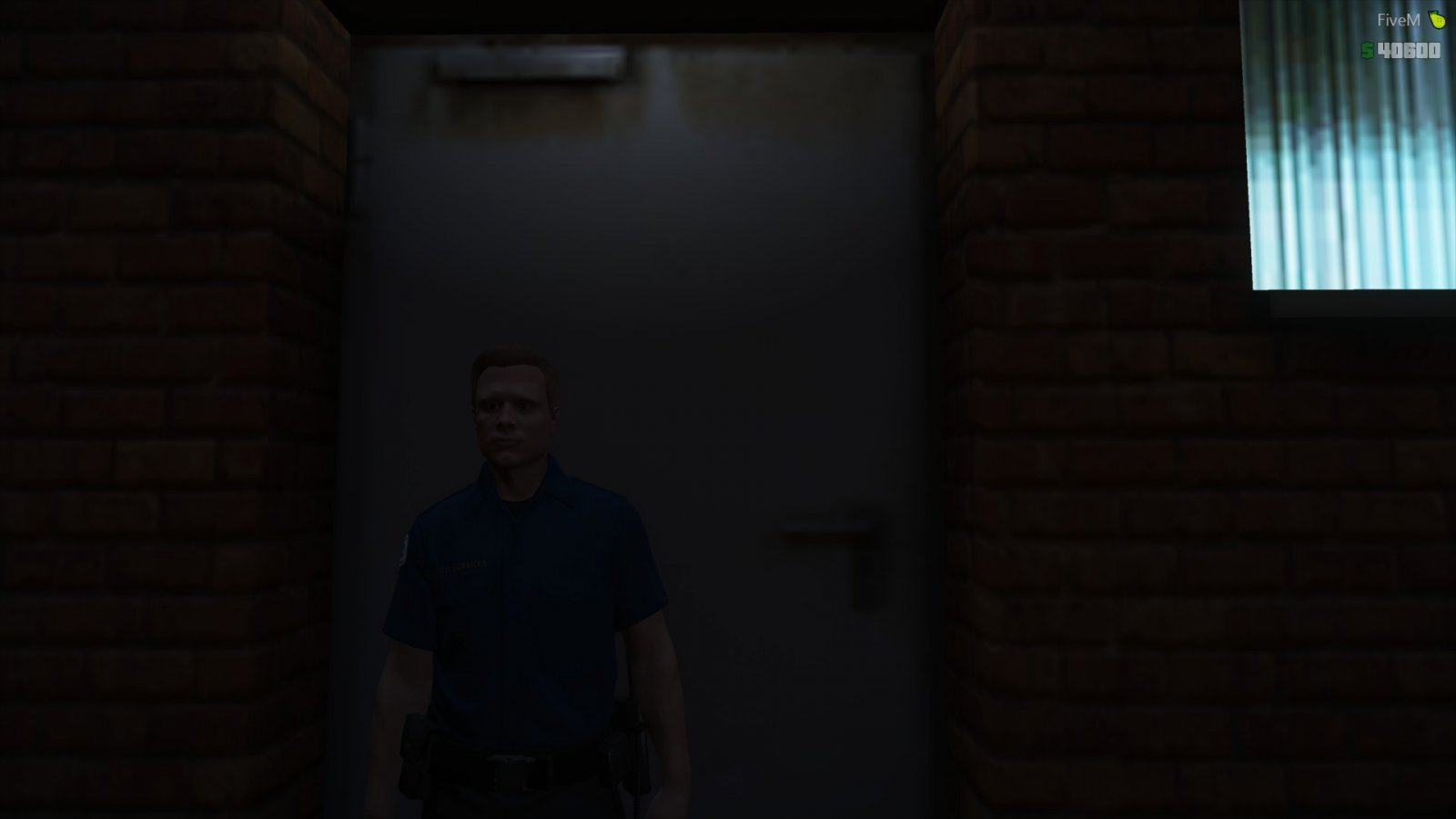 Never realised how big that door is :P