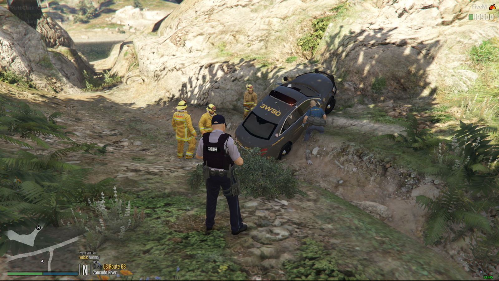 BCSO WSU Crash LSFD Scene png - Blaine County Sheriff's Office