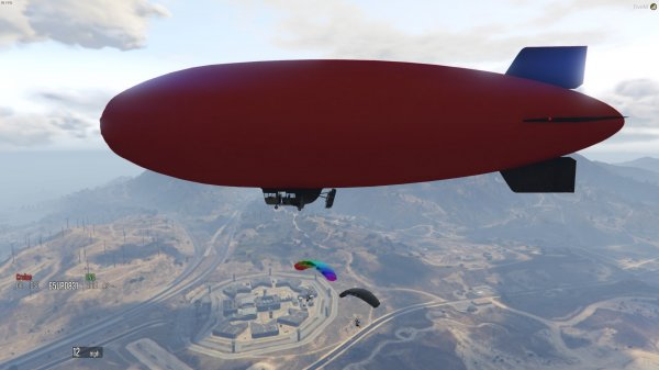 Jumping Blimp Party