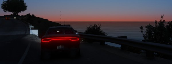 Charger + Sunset = Picture Worthy