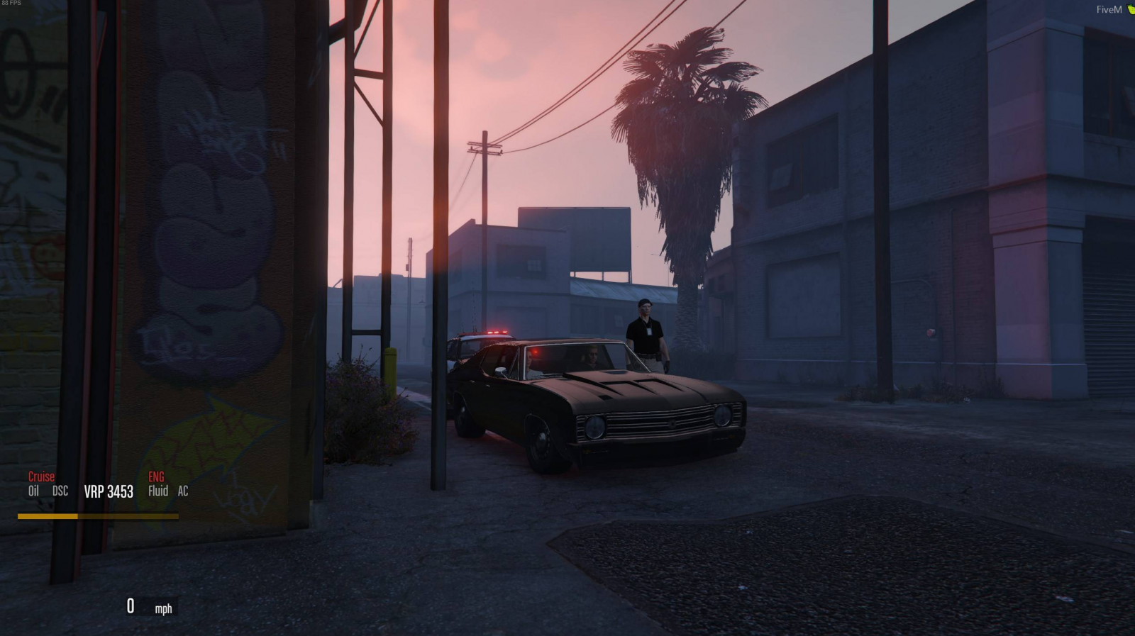 Muscle car - Civilian Operations - Department of Justice Roleplay