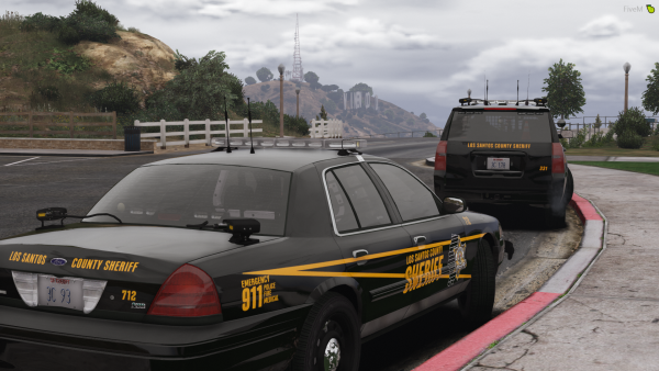 LCSO out on patrol!