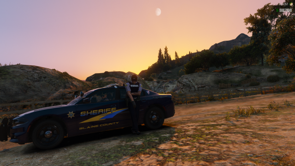 Not too bad a day to be patrolling