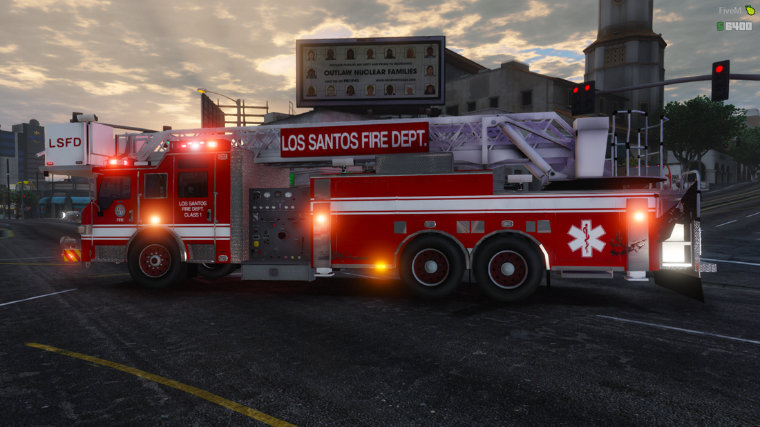 lsfd png - Los Santos Fire Department - Department of