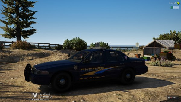 BCSO - Crown Victoria