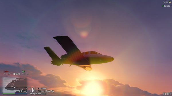Airplanes and Sunsets