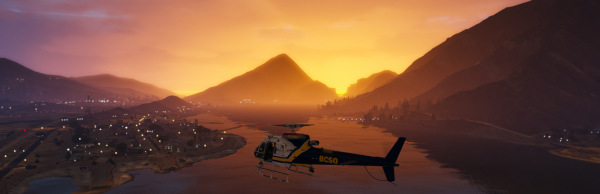 Blaine County Sunset