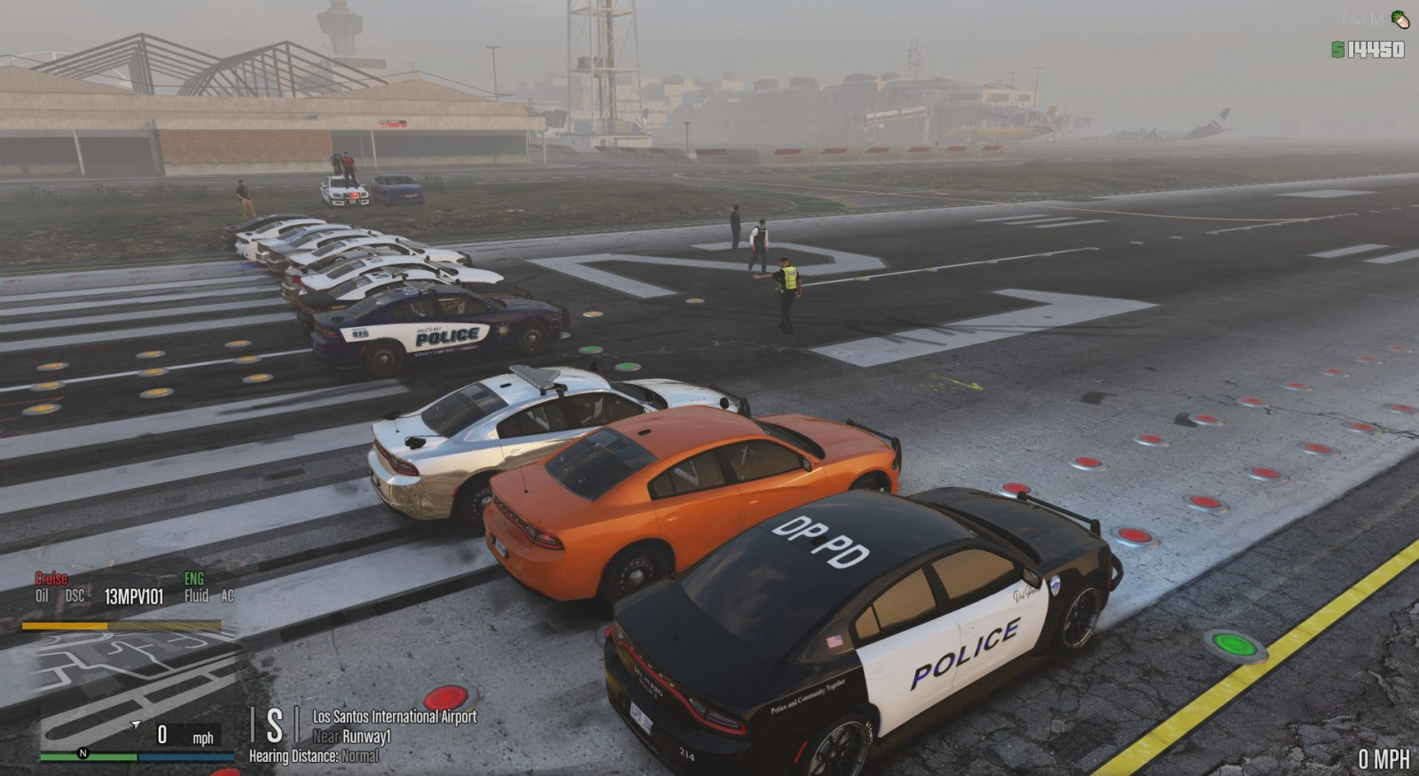 LSIA charger race