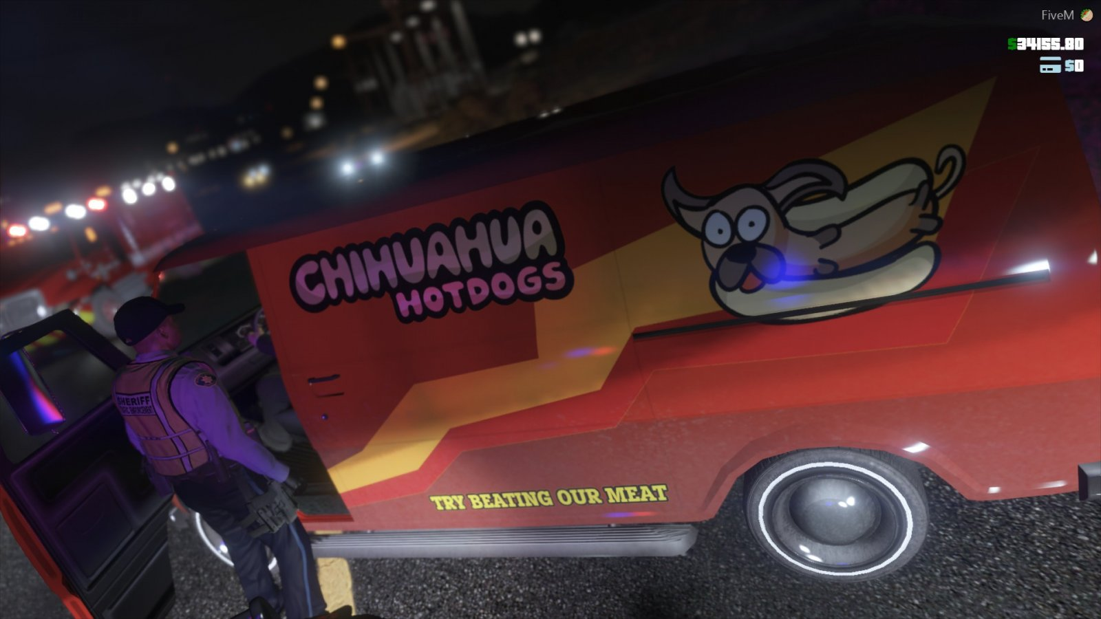 Chihuahua Hot Dogs is 10-7