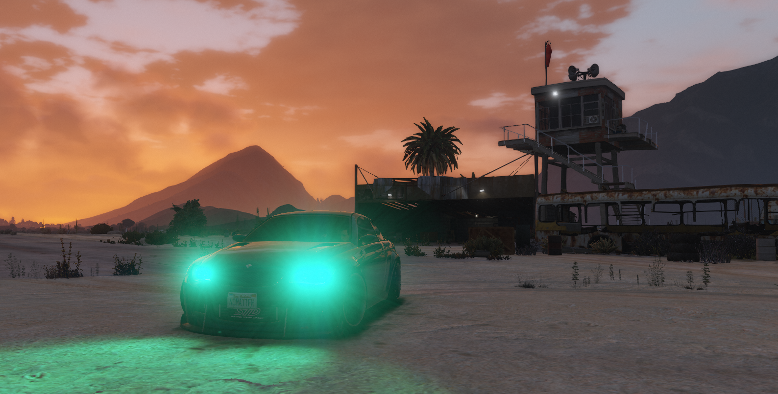 Sandy Shores Airfield Sponsored
