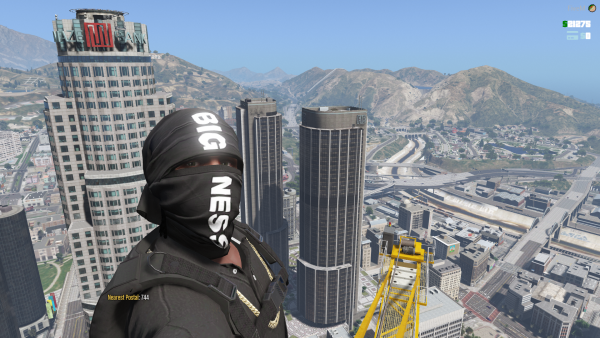 Caught some nice views on top of the crane!