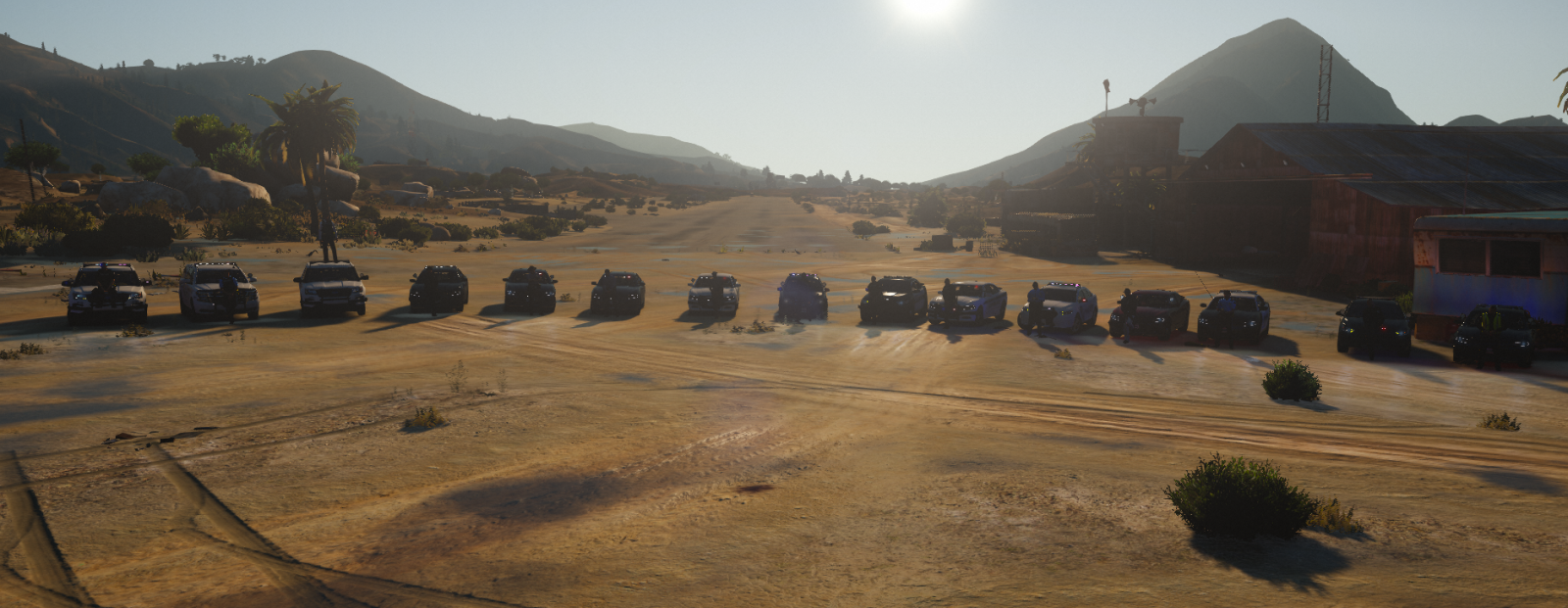 LSPD - Modified Chase Event Lineup