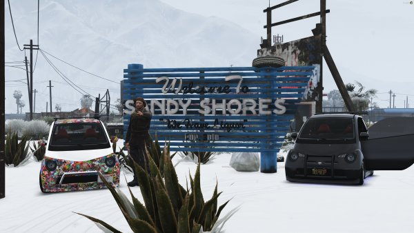 Beep Beep Boys Comes to Sandy Shores