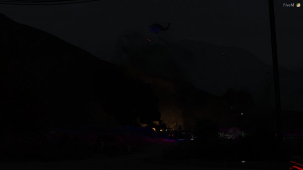 Ariel Bombing of a Spot Fire (2)