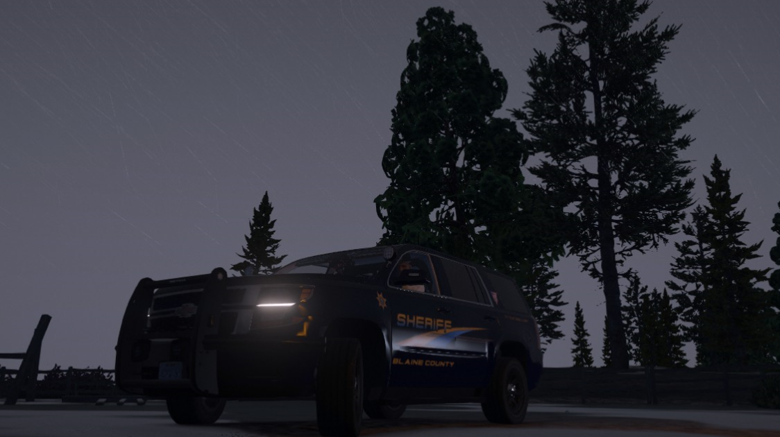 Rain or shine, BCSO is out and ready to serve.