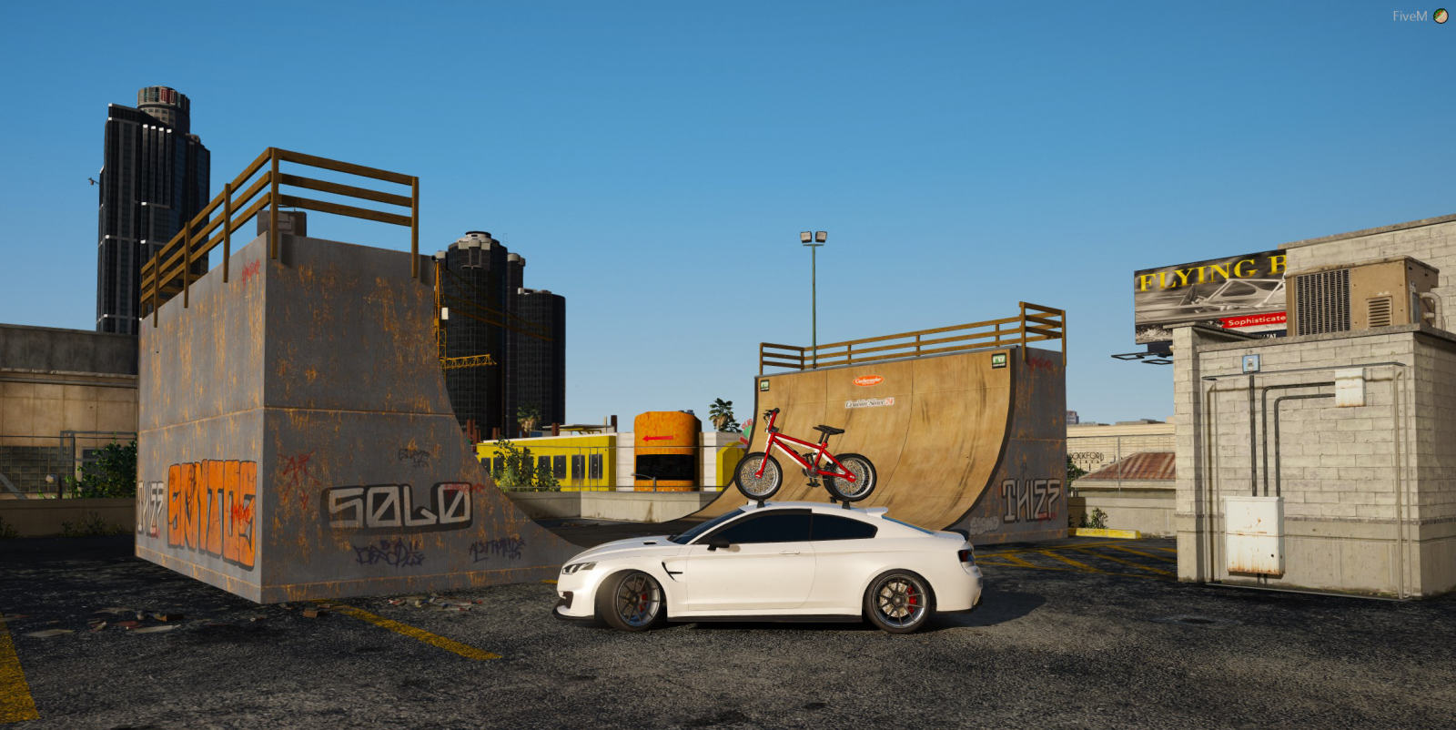 Out for some BMX