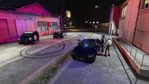 Hannah Pulled over in Paleto
