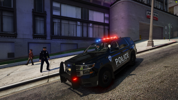 On patrol In Vinewood