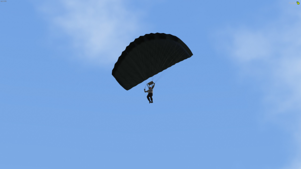 Parachute in the City