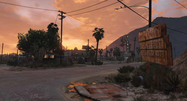 Sandy Shores Sunset