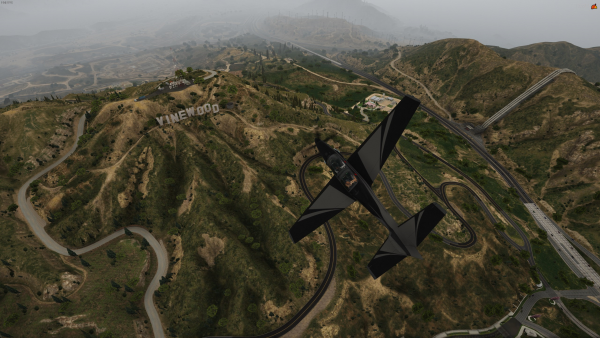 Fly over Vinewood