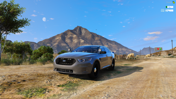 LSPD 2016 Ford Taurus Unmarked 2