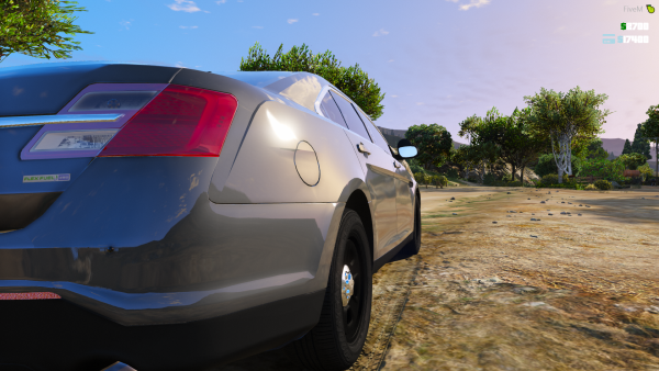 LSPD 2016 Ford Taurus Unmarked