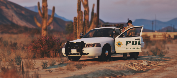 Radar with Sandy Shores Police