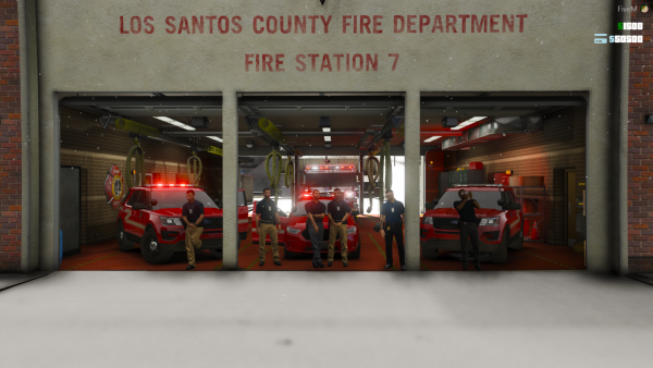 FMO outside Station 7
