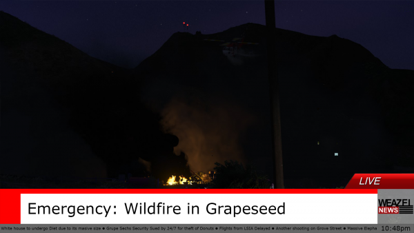 Wildfire in Grapeseed