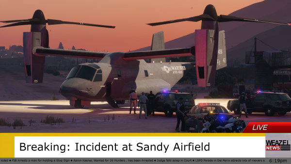 Incident at Sandy Airfield