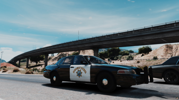 Highway Patrol Crown Victoria