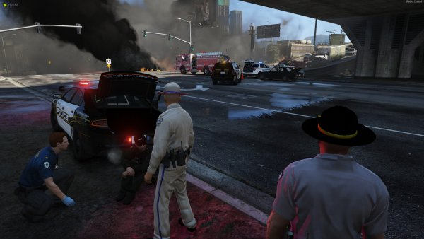 Shots Fired turns into Vehicle Fire