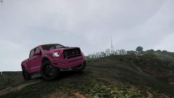 Climbing Hills in Pixie truck