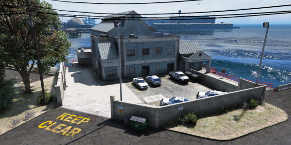 The LS Port Authority Headquarters - The Port Office!